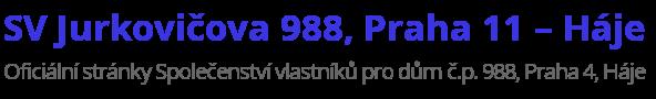 SV Jurkovičova 988